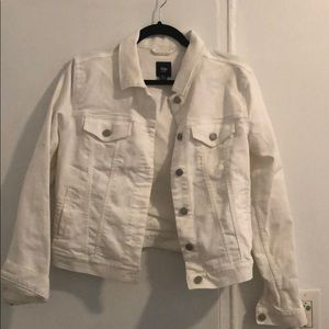 Worn Once - White Gap Jean Jacket